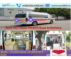 Find Medilift Ambulance Service in Bokaro at the Low-Cost