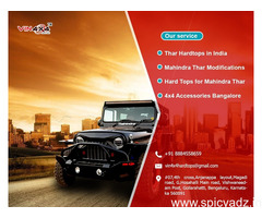 Best Thar Hardtops and Modification in Bangalore - Vin4x4 Hardtops