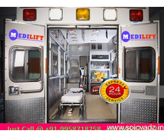 The Most Comfortable and Suitable Ambulance Service in Delhi