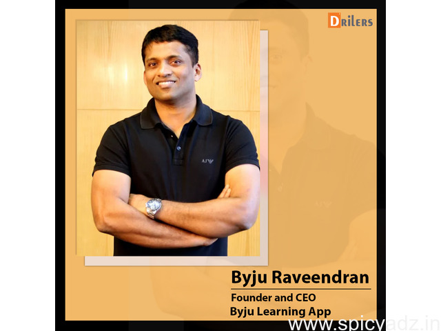 Famous Entrepreneurs in India Like Byju Raveendran - 1
