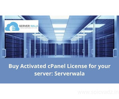 Buy Activated cPanel License for your server: Serverwala