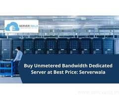 Buy Unmetered Bandwidth Dedicated Server at Best Price: Serverwala