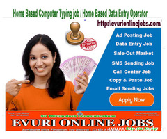 Do want genuine online home based workSimple Typing Work From Home / Part Time Home Based Computer J