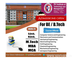 RV College of Engineering admission | Management Quota Fees - collegeadmissioncare.com