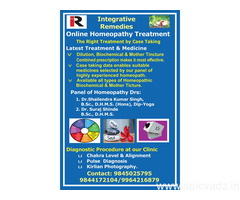Online Homeopathy Treatment
