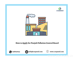 Apply for NOC form the Punjab pollution Control  Board