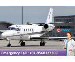 Charter Air Ambulance in Delhi Cost by Medivic Aviation
