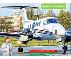 Private Charter Air Ambulance from Delhi at Low Fare by Medivic