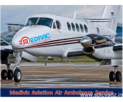 24x7 Hours Medivic Air Ambulance in Guwahati