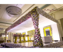 Reception Stage Decoration Chennai, Outdoor Wedding Decoration Chennai, Best Flower Decorators In My