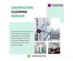 Get Home cleaning and sanitizing services with FAIDEPRO