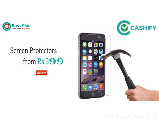 Buy unbreakable screen protectors from Rs.399 - 1