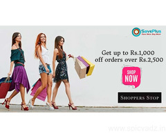 Get up to Rs.1,000 off orders over Rs.2,500