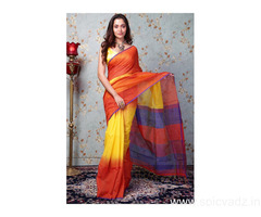 Shop cotton sarees online for your daily wear