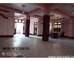 20000SQFT COMMERCIAL SPACE AVAILABLE ON  RENT FULLY / PARTLY