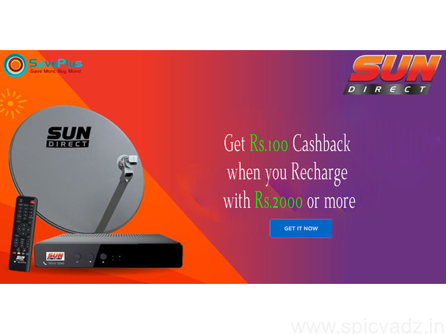Get Rs.100 Cashback when you Recharge with Rs.2000 or more - 1