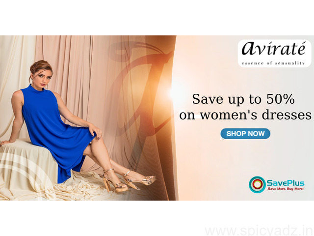 Save up to 50% on women's dresses - 1