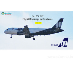 5% Off Flight Booking for Students