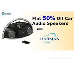 Flat 50% Off Car Audio Speakers