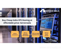 Buy Cheap India VPS Hosting at Affordable price: Serverwala
