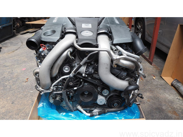 Mercedes Benz W463 G63AMG 2015 Long Block Engine M157 984 - 1