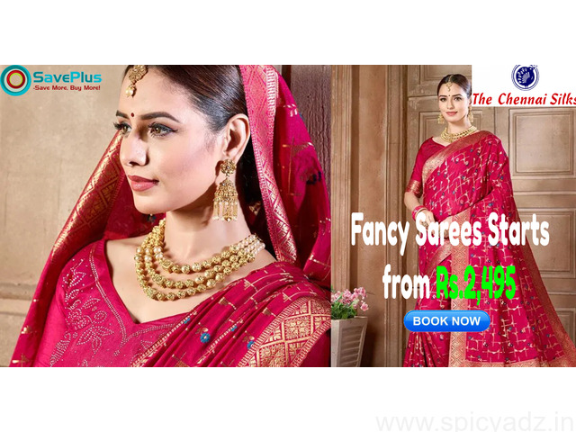 Fancy Sarees Starts from Rs.2,495 - 1