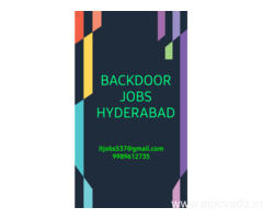PURE BAKCDOOR JOBS HYDERABAD