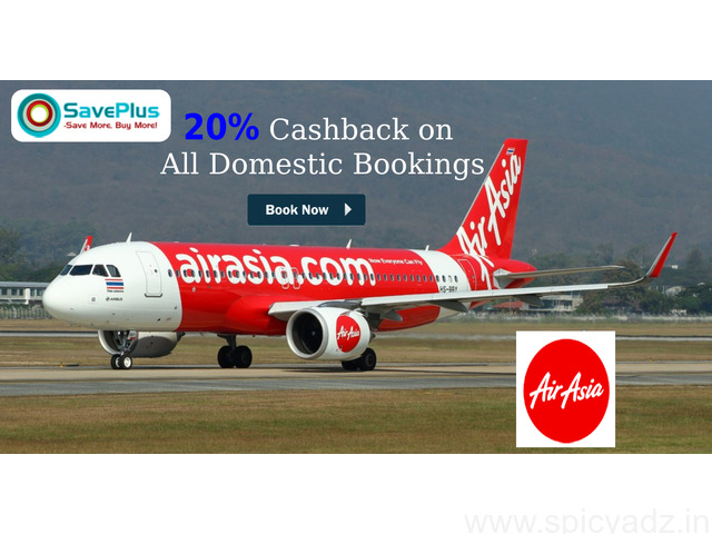 20% Cashback on All Domestic Bookings - 1