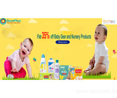 Get Up To Flat 35% off Baby Gear and Nursery Products