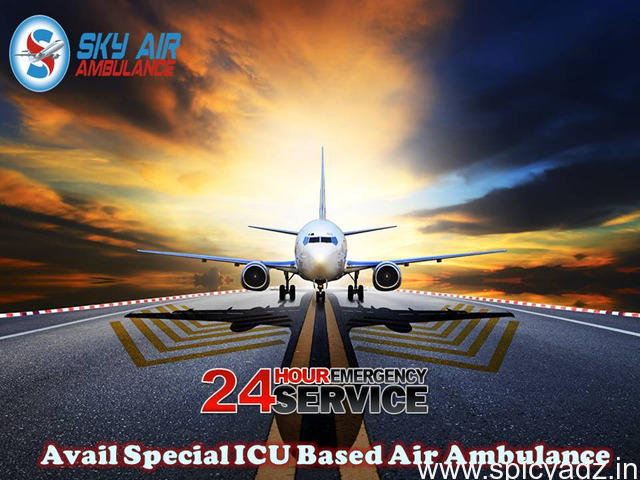 Advanced Emergency Air Ambulance Service from Port Blair at a Minimum Rate - 1