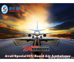 Advanced Emergency Air Ambulance Service from Port Blair at a Minimum Rate