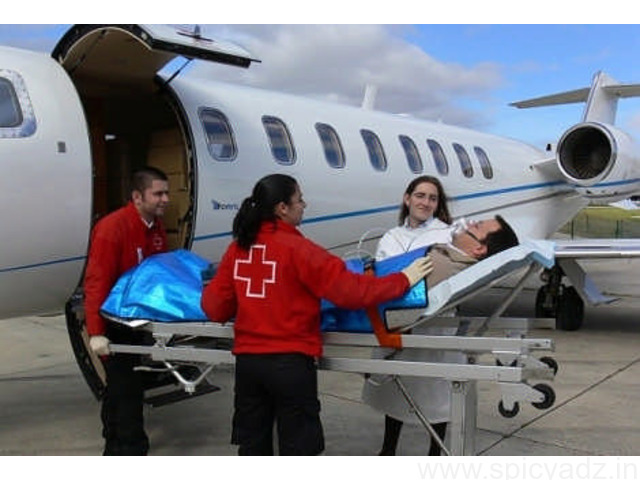 Get Fastest Sky Air Ambulance Service in Agartala - 1