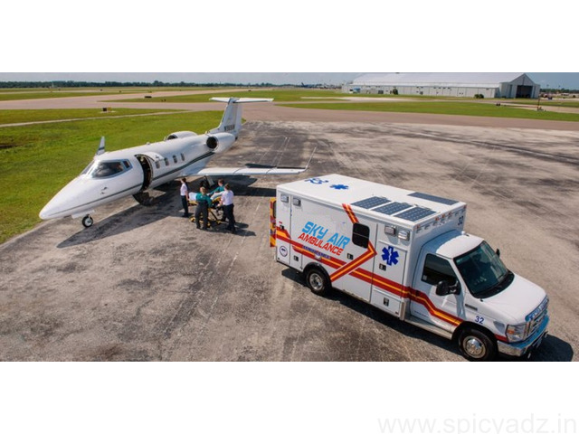 Well-maintained Air Ambulance Service in Amritsar by Sky - 1