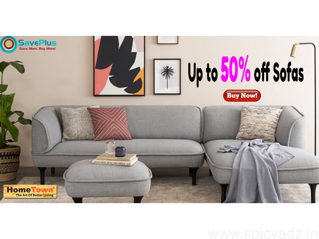 Get Up to 50% off Sofas - 1