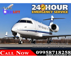 Highly Developed Emergency Air Ambulance Services in Patna at Low Fare