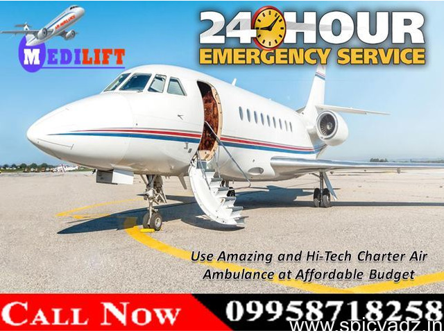 Book Most Trustworthy Air Ambulance Services in Kolkata with Doctor Facility - 1