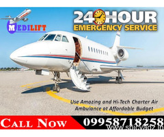 Book Most Trustworthy Air Ambulance Services in Kolkata with Doctor Facility