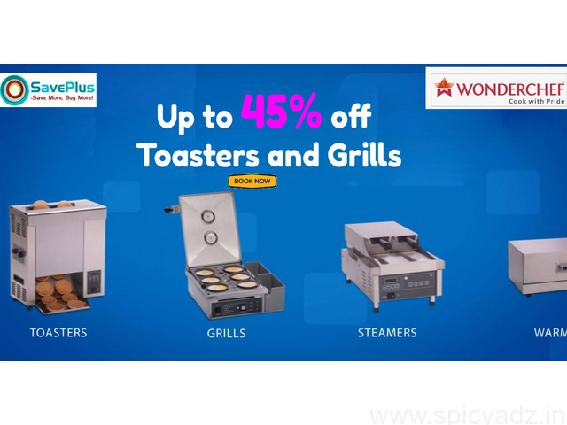 Get Up to 45% off Toasters and Grills - 1