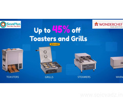 Get Up to 45% off Toasters and Grills