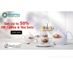 Craftfurnish Coupons, Deals & Offers: Get Up to 50% Off Coffee & Tea Sets