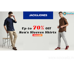 JACK & JONES Coupons, Deals, sales , and Codes: Up to 70% Off Men's Sleeves Shirts