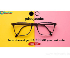 John Jacobs Eyewear Coupons, Deals & Offers: Men's Eyeglasses from Rs.1500