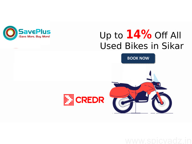 Up to 14% Off All Used Bikes in Sikar - 1