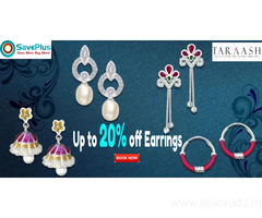 Save Up to 20% off Earrings