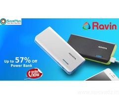 Ravin Coupons, Deals & Offers: Up to 57% Off Power Bank-Feb 2021