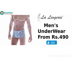 La Lingerie Coupons, Deals & Offers: Men's Underwear from Rs.490