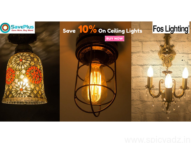 Save 10% On Ceiling Lights - 1
