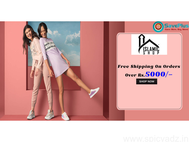 Islamic Shop Coupons, Deals & Offers: Free Shipping on orders over Rs.5000 - 1