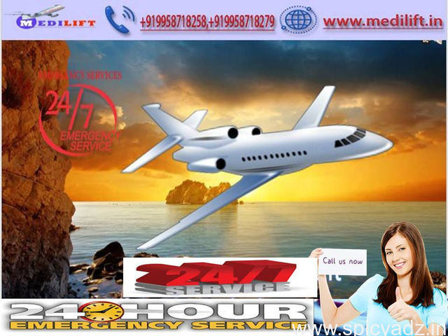 Safe and Quick ICU Patient Transfer – Medilift Air Ambulance Services in Ranchi - 1