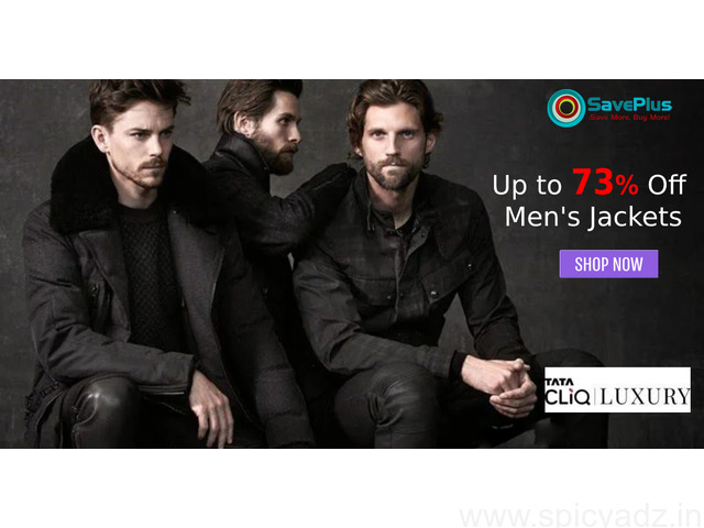 Flat Up to 73% Off Men's Jackets - 1